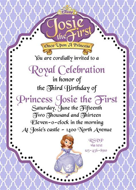 Sle Wedding Invitation Log by Sofia The Invitations Free Printable Sofia The