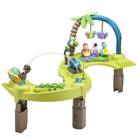 Activity Tables For Babies by Evenflo Exersaucer Jungle Baby Gear