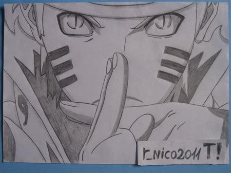 imagenes a lapiz de naruto mi dibujo naruto uzumaki tercera entrega arte taringa