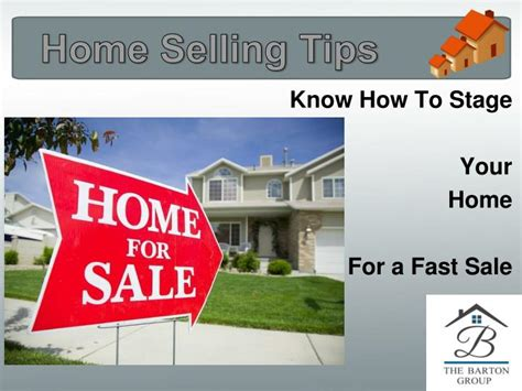 ppt home selling tips how to stage your home for a