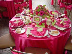 table decoration ideas for fuschia wedding decorations decoration