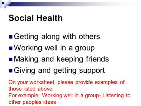 Health Getting An A For Health by Mental Health Wellness Lesson 2 Ppt
