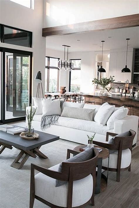 modern neutral living room design house living