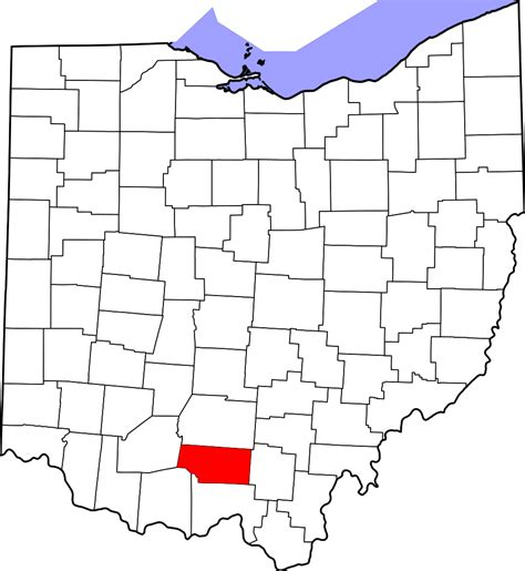 what co file map of ohio highlighting pike county svg wikipedia