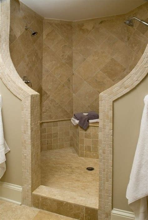 two shower heads open shower with two shower heads my future house