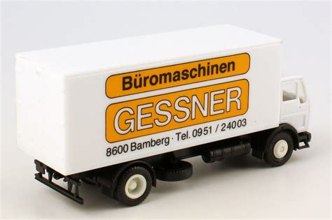 Auto K Ng Ag by 1 87 Mercedes Ng Koffer Lkw Gessner B 252 Romaschinen