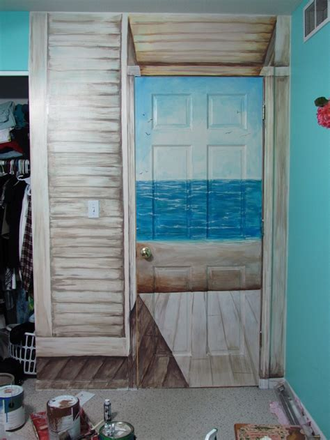 Closet Door Murals Mural Cool For My Closet Door The