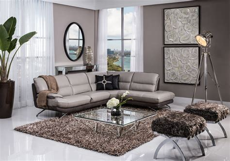 El Dorado Furniture Living Room by Corner Sofa Modern Living Room Miami By El