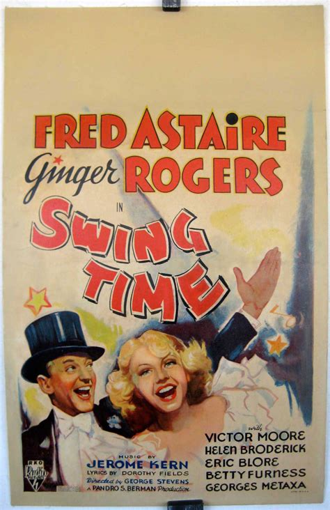 swing time quot swing time quot poster quot swing time quot poster
