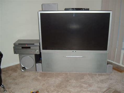 Sony Tv Projection Ls free sony wega 50 inch rear projection tv saanich