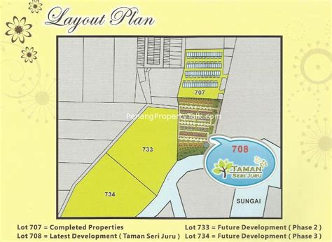 layout taman taman seri juru penang property talk
