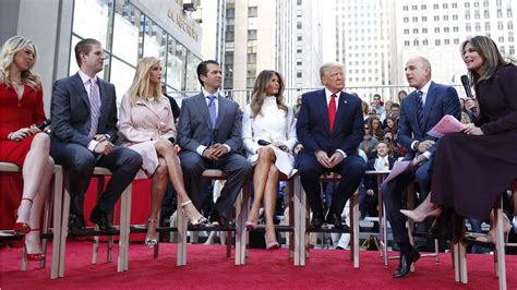 donald trump family photos donald trump s family on his instincts empathy and habit