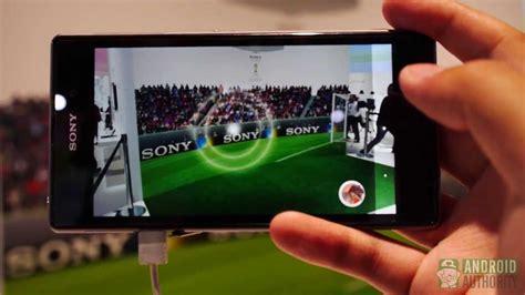 Lensa Kamera Sony Xperia Z1 sony xperia z1 feature focus