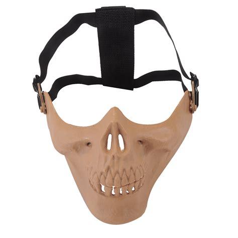 G Mask skull skeleton airsoft paintball bb gun protect mask g2 9 in skullies beanies from