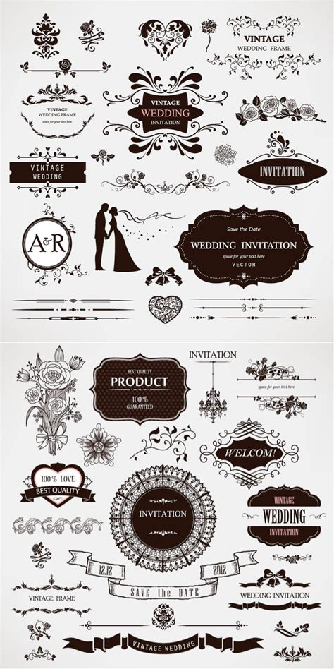 wedding decor vector vectorpicfree