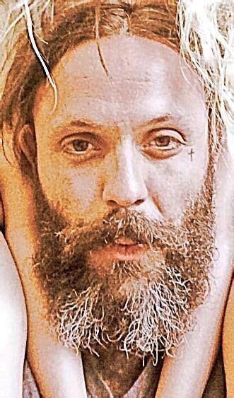 blue october tattoo justin furstenfeld beard blue october band cross