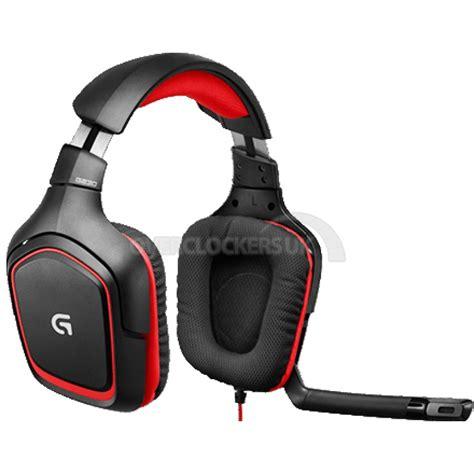 Headset G230 logitech g230 stereo gaming headset 981 000540 ocuk