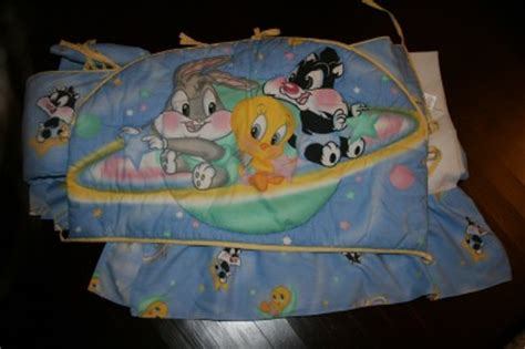 Baby Looney Tunes 3 Piece Crib Bedding Set Ebay Baby Looney Tunes Crib Bedding Set