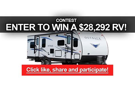 Enter To Win Daily Sweepstakes And Contests - contest enter to win a keystone outback rv worth 28 292