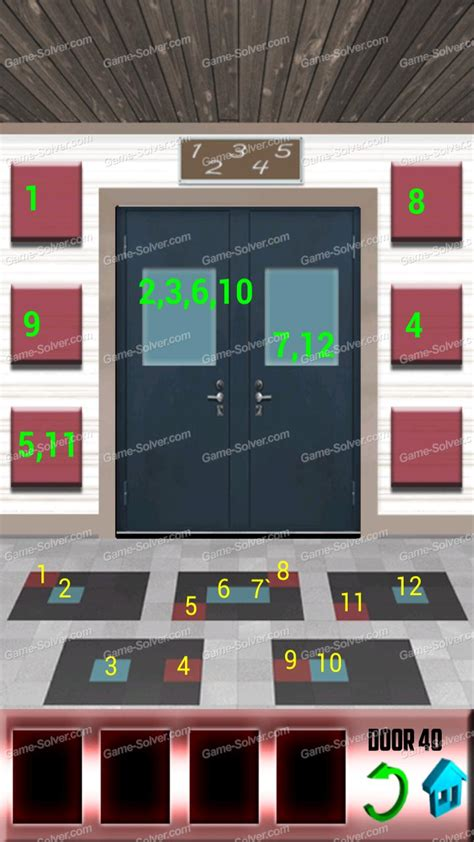 100 doors floors 39 100 doors x level 39 solver