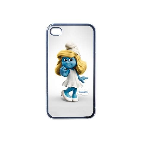 Smurf Iphone 4 4s the smurfs smurfette apple iphone 4 4s on stuff