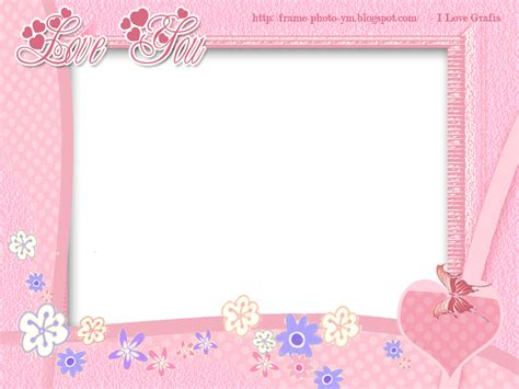 Wallpaper Bunga 061 by 061 You Pink Design Frame Free Frame