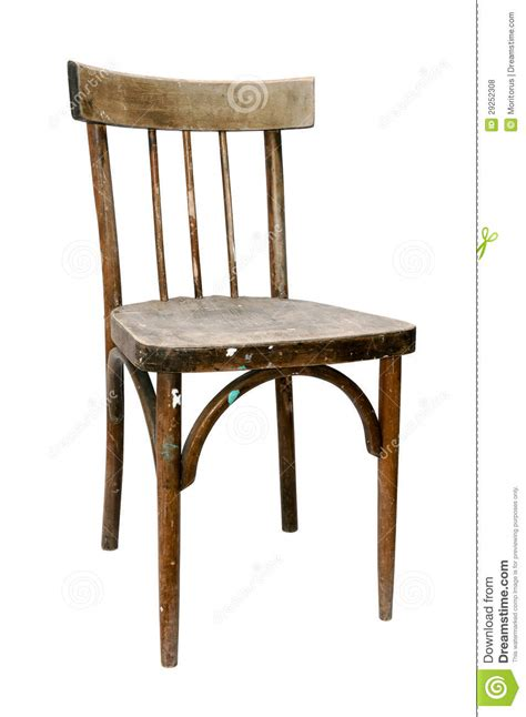 stuhl alt wooden chair stock photo image of decor fashioned