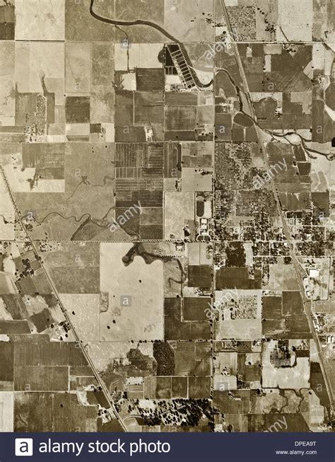 historical aerial photograph elk grove sacramento county