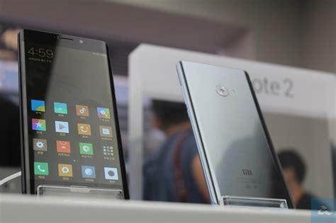 Hp Xiaomi Keluaran Pertama pandang pertama mi note 2 peranti pertama dengan skrin