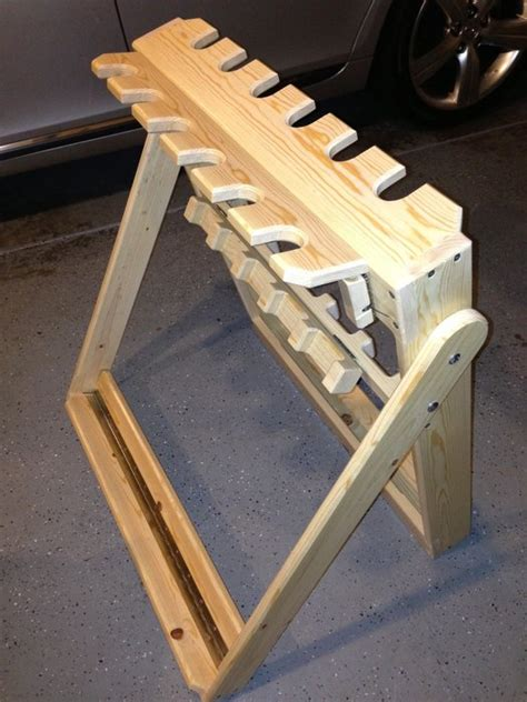 gun rack woodworking plans portable gun rack by nugimon lumberjocks