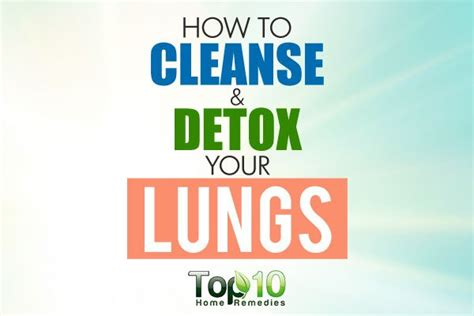 How To Detox Your Lungs by How To Cleanse And Detox Your Lungs Page 2 Of 3 Top 10