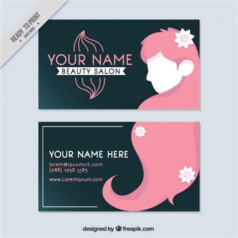 Salon Business Cards Vector Free salon business card vector free