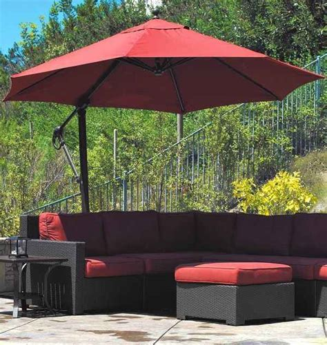 Offset Patio Umbrella Lowes 7 Offset Patio Umbrella Lowes To Decor Your Outdoor Space