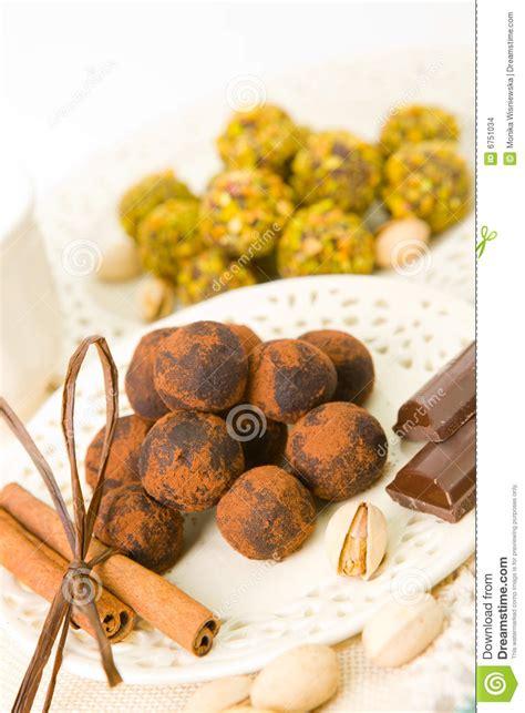Handcrafted Chocolates - handmade chocolates stock photo image of chocolate stick