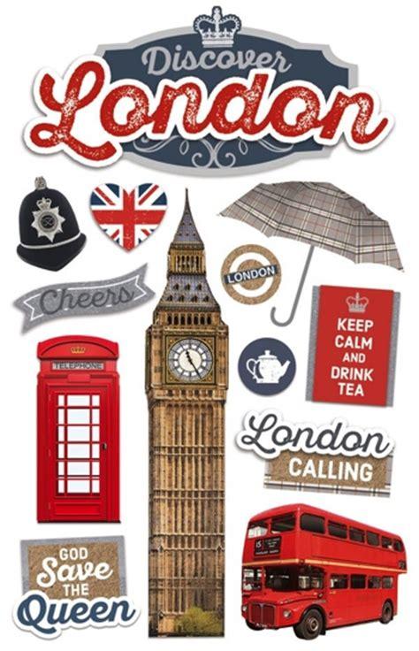 3d Sticker London by London Scrapbooking Stickers
