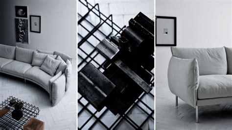 swan living room sofa loveseat 97b il decor furniture black swan sofa by saba italia