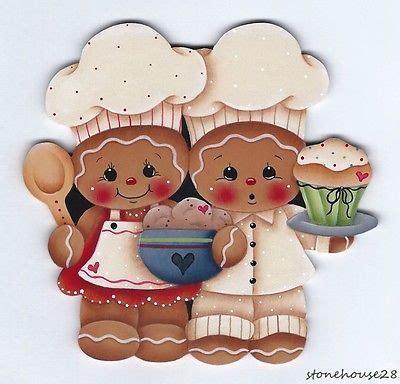 imagenes de jengibre en ingles hp gingerbread chefs fridge magnet chefs imanes y pan