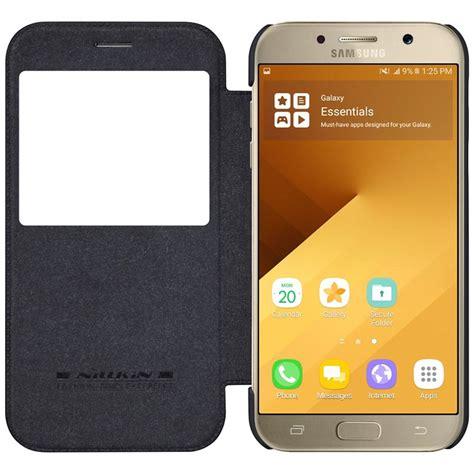 Nillkin Qin View Samsung Galaxy A3 2018 samsung galaxy a3 2017 nillkin qin view flippdeksel svart
