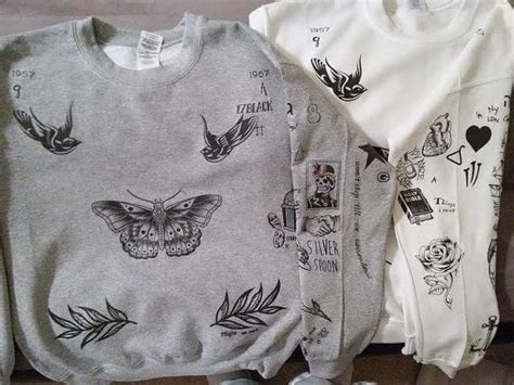 louis tomlinson tattoo sweater harry styles tatoo sweatshirt all one direction fans come