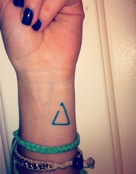 small symbol tattoo small wrist delta is a symbol for change the