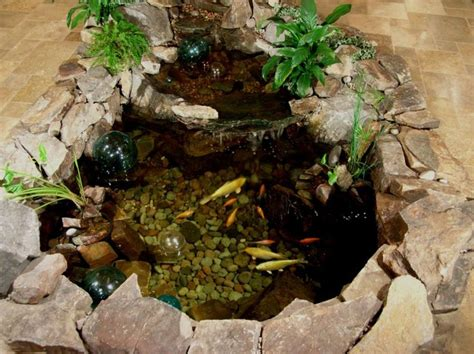 how to make an indoor fish pond small robust indoor koi pond indoor water gardens