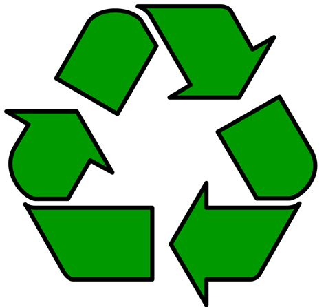 recycle sign template recycle sign template clipart best