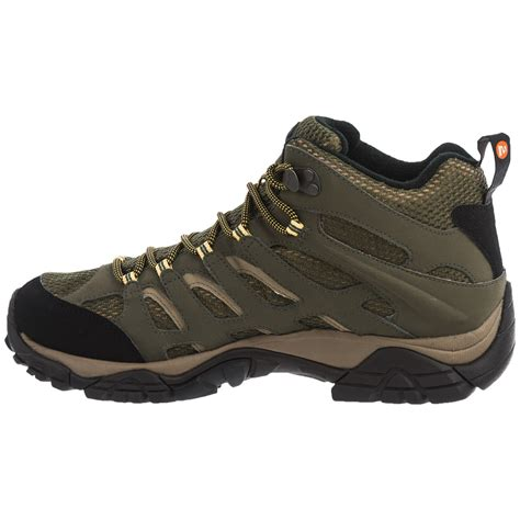 merrell boots for merrell moab mid hiking boots for save 38