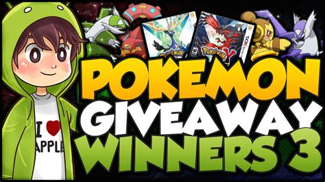 Pokemon Xy Giveaway - new pokemon x y unreleased pokemon giveaway winners announcement youtube