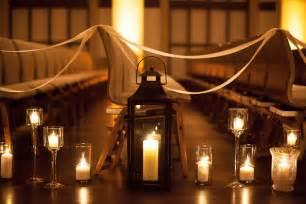 wedding aisle lanterns ikea candles goin to the