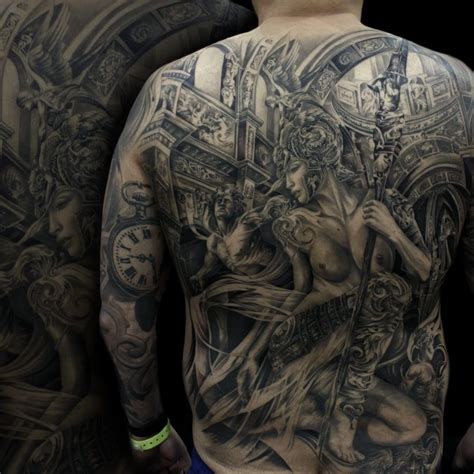 tattoo back pieces warrior back tattoos tonymancia