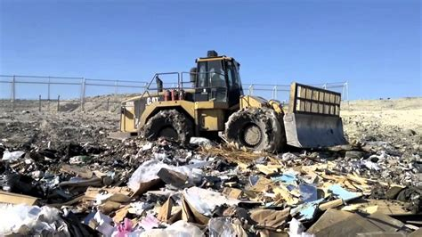 cat landfill compactor youtube
