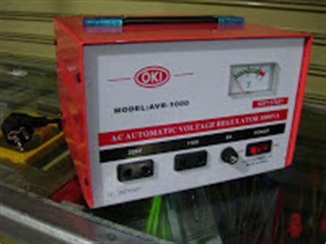 Stabiilizer Toyosaki 1000w jaya sakti multi electrical supplies stabilizer voltage