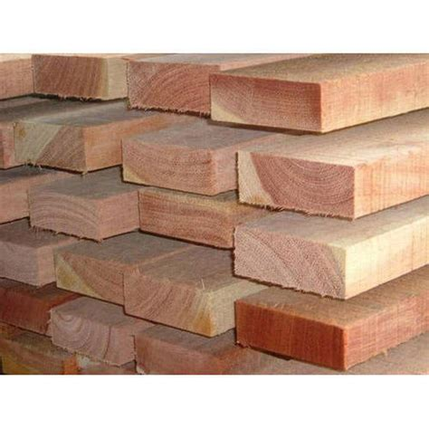 Solid Meranti Wood For Furniture Height 7 10 Feet Rs