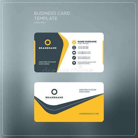 Electronic Card Templates by Electronic Business Card Templates Choice Image Business